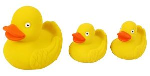Real Rubber Duck Family - Yellow